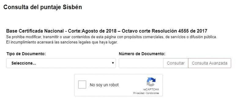 Cómo descargar el Certificado del SISBEN