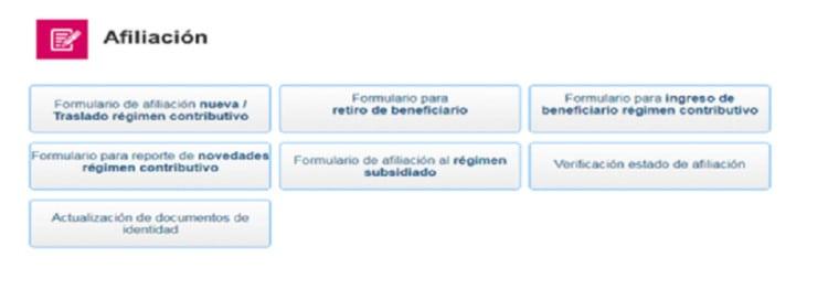 formulario de afiliación eps sura empleador