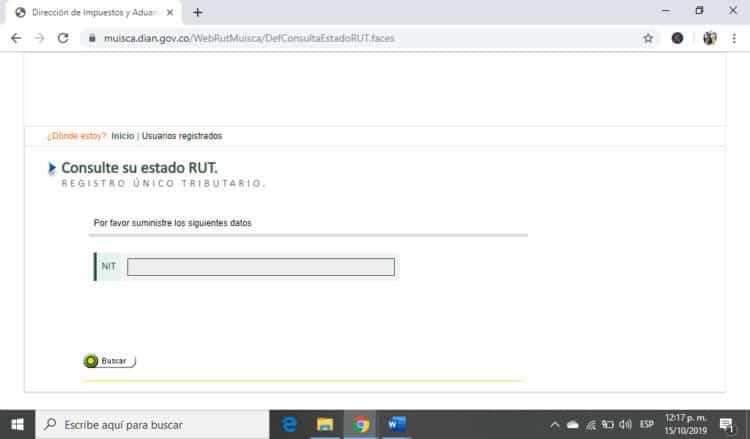 RUT descargar pdf