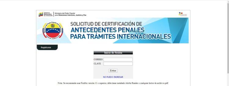 verificacion de antecedentes penales